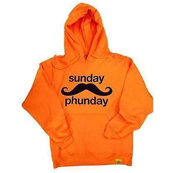 Team phun sunday phunday hooded sweat neon orange