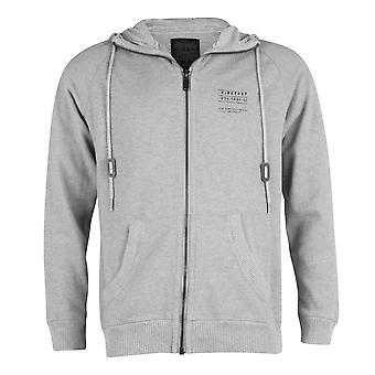 Firetrap Trakstar Hoodie Sweat Top, Greymarl, Large