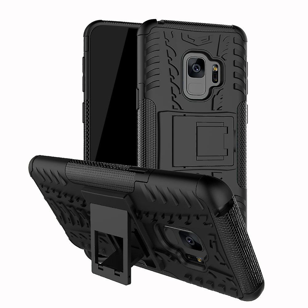 iCoverCase | Samsung Galaxy S9 Plus | Stöttåligt Hybrid Skal