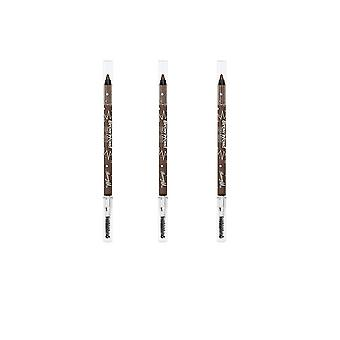 Barry M 3 X Barry M Brow Wow - Light/Medium
