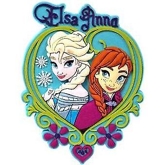 Magnet-Disney-Frozen-Elsa & Anna Soft PVC licensierade nya leksaker 22221