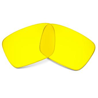 SEEK Replacement Lenses Compatible for Oakley Fuel Cell Hi Yellow