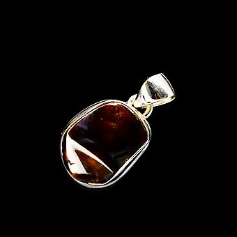 Mexican Fire Agate Pendant 1