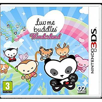 Luv Me Buddies Wonderland (Nintendo 3DS)-nyt