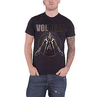 Volbeat T Shirt King Of The Beast Band Logo new Official Mens Black