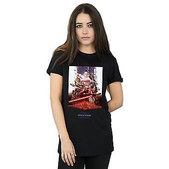 Star Wars fremkomsten af Skywalker poster kvinder ' s kæreste passer T-shirt