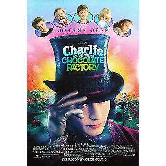 Charlie And The Chocolate Factory (Double Sided Regular Style A) Original Cinema Poster
