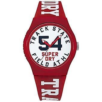 SUPERDRY montre-bracelet Mens analogique Quartz Silicone SYG182WR