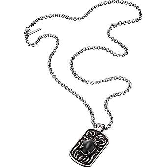 Police Men's Stainless Steel Pendant Necklace S14AFX01P