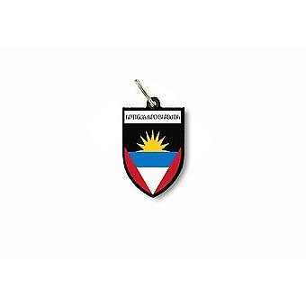 Dør nøgle nøgle flag samling City Coat of Arms Antigua Barbuda