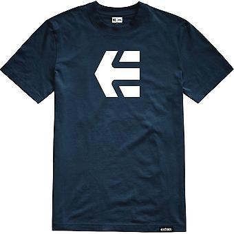Etnies Icon Short Sleeve T-Shirt in Navy