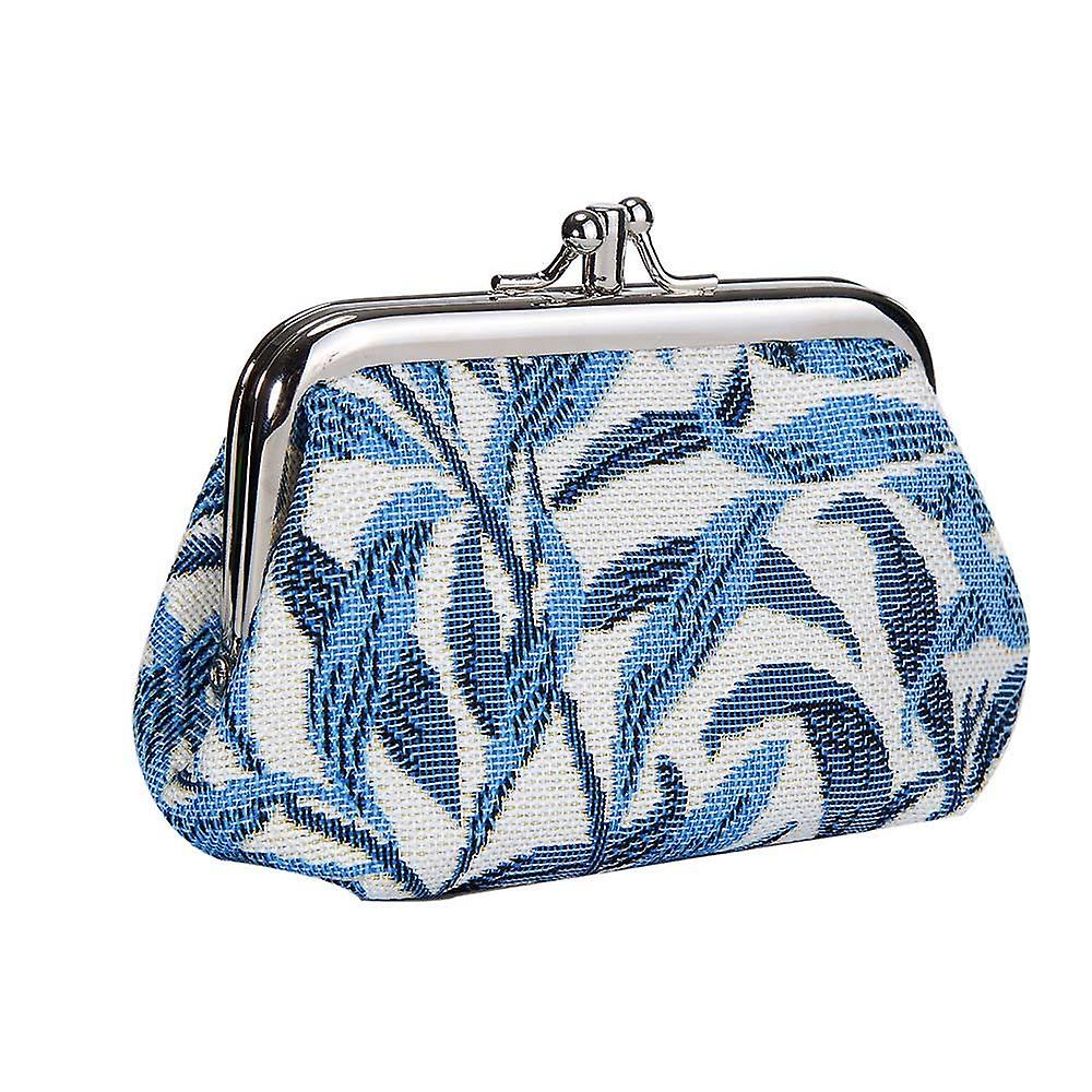 William morris - willow bough coin purse by signare tapestry / frmp-wiow