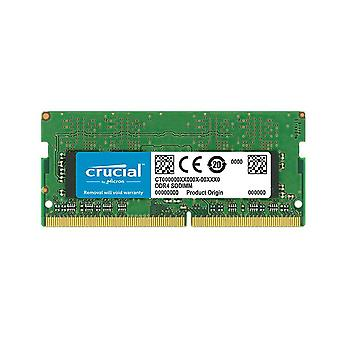 Crucial 8GB (1x8GB) DDR4 2400MHz SODIMM CL17 Single Ranked LS