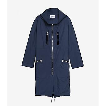 Parka Lacoste Fashion Week Windbreaker Navy Bleu