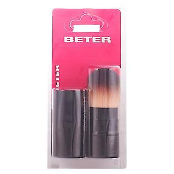 Beter Retractable make up brush, synthetic hair