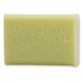 Florex Schafmilchseife - Holunderblüten - süßer Duft von Holunderblüten an warmen Sommertagen 100 g