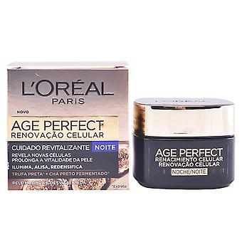 L'Oréal maquillage âge parfait Renacimiento Celular nuit crème 50 Ml pour femme