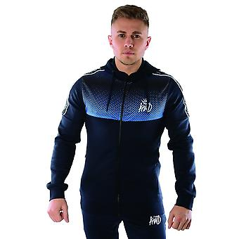 Kings Will Dream | Kwd Perez 3973 Poly Hood Track Top - Navy/cobalt