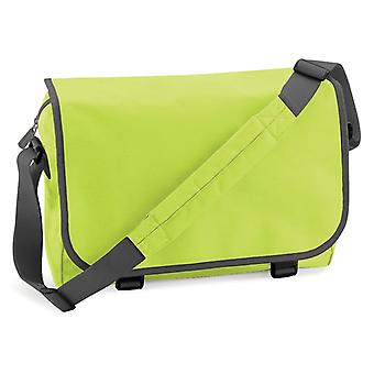Messenger Bag - grön/grå