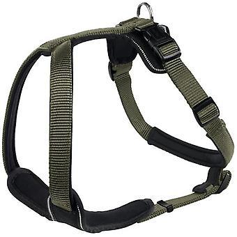 Hunter Harness Neopren green and black (Honden , Halsbanden en Riemen , Tuigjes)