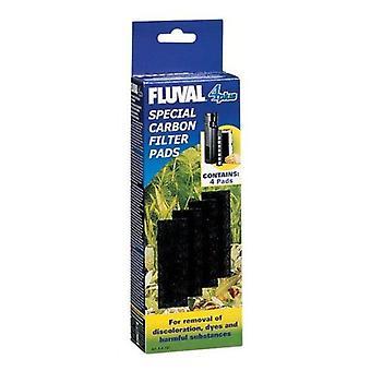 Fluval 4 Plus Carga Carbón (Peces , Filtros y bombas , Material filtrante)