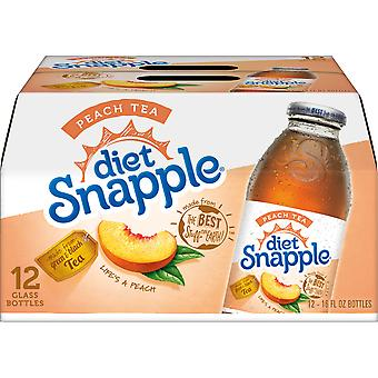 Snapple Diet Peach Te-( 473 Ml X 6 Burkar )