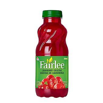 Fairlee Cranberry Plastic-( 300 Ml X 24 Bouteilles )