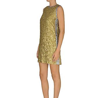 N°21 Ezgl068140 Women's Gold Polyester Dress