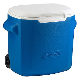 Coleman 28QT Performance Wheeled Camping Cooler Blue 26L