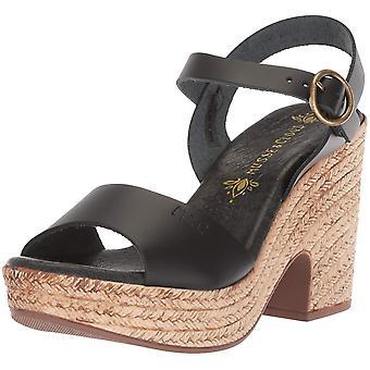 Musse & Cloud Womens Lenna Leather Open Toe Casual Platform Sandals