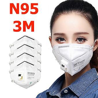 4-pack N95 3m στόμα προστατευτικό μάσκα προσώπου αναπνευστήρας 9502v