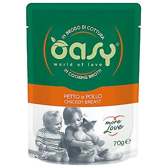Oasy Pouch with Chicken (Cats , Cat Food , Wet Food)