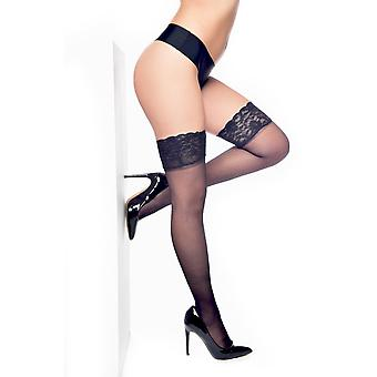 Pamela Mann plus grootte Lace top hold ups