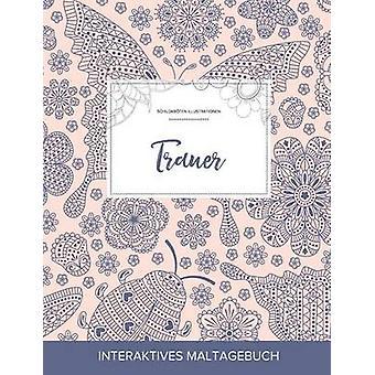 Maltagebuch fr Erwachsene Trauer Schildkrten Illustrationen Marienkfer by Wegner & Courtney