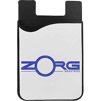 The Fifth Element Zorg Industries Logo Phone Card Holder