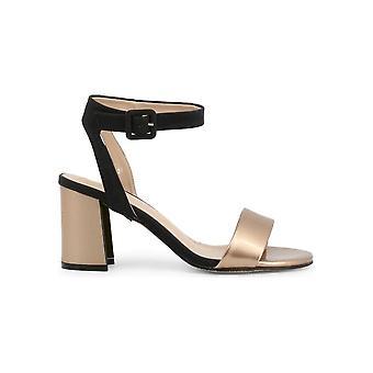 Laura Biagiotti - sko - sandal - 6300_PATENT_COPPER - damer - peru, sort - EU 40