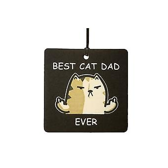 Best Cat Dad Ever Car Air Freshener