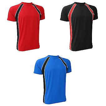Finden & Hales Mens Coolplus Jersey Sports Team T-Shirt