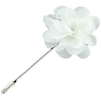 Eingewandt London Blume Lapel pin - weiß