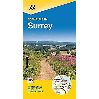 50 Walks in Surrey - 9780749581237 Book