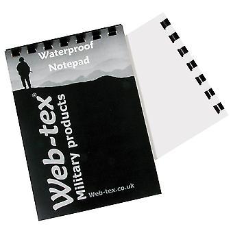 Web-tex 100% vedenpitävä notepad, A6