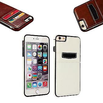 Iphone 5/5 s/se2016 - Glatte Brieftasche Shell / Ledertasche