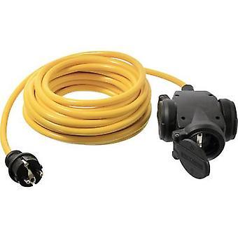 som - Schwabe 61452 Nuvarande kabel förlängning 16 A Gul 5,00 m