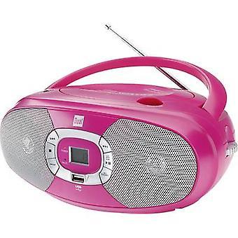 N/A Dual P 390 CD, USB Pink