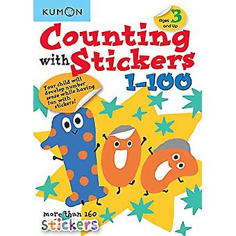 Counting with Stickers 1-100 by Publishing Kumon - 9781941082799 Book