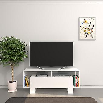Mobile Porta TV Melville Color Bianco in Truciolare Melaminico 120x33,2x47,5 cm