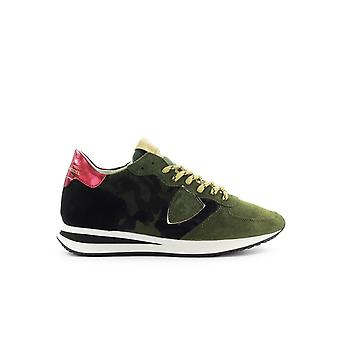 PHILIPPE MODEL TRPX PONY CAMOUFLAGE HUNTER GREEN SNEAKER