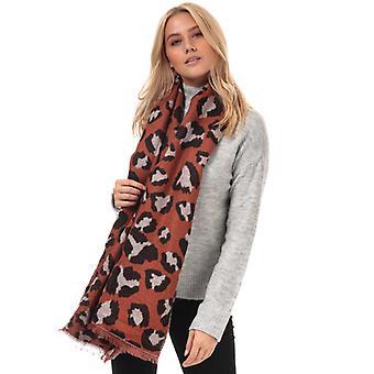 Zubehör Vero Moda Novie Leopard Print Schal in braun