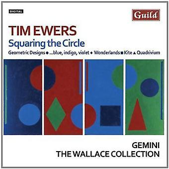 T. Ewers - Tim Ewers: Squaring the Circle [CD] USA import