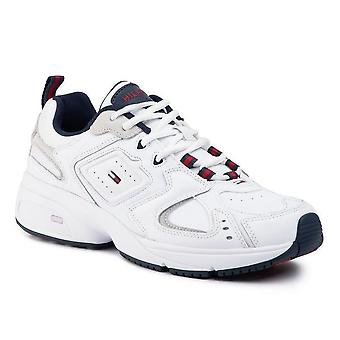 Tommy jeans heritage trainers mens white